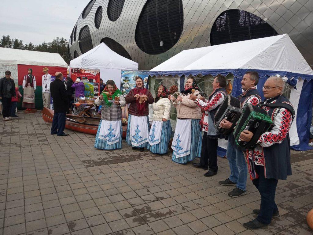 В Борисове  начался областной фестиваль-ярмарка работников сельского хозяйства «Дожинки-2019»