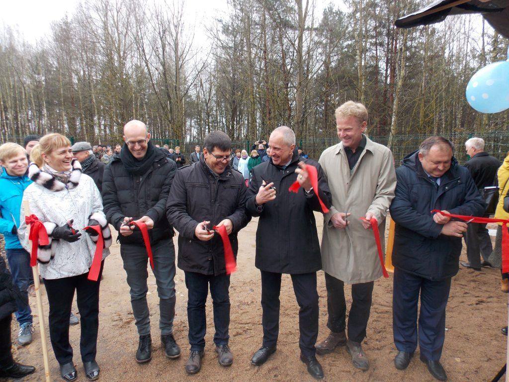 Экологическое очистное сооружение торжественно открыли в Стаховцах