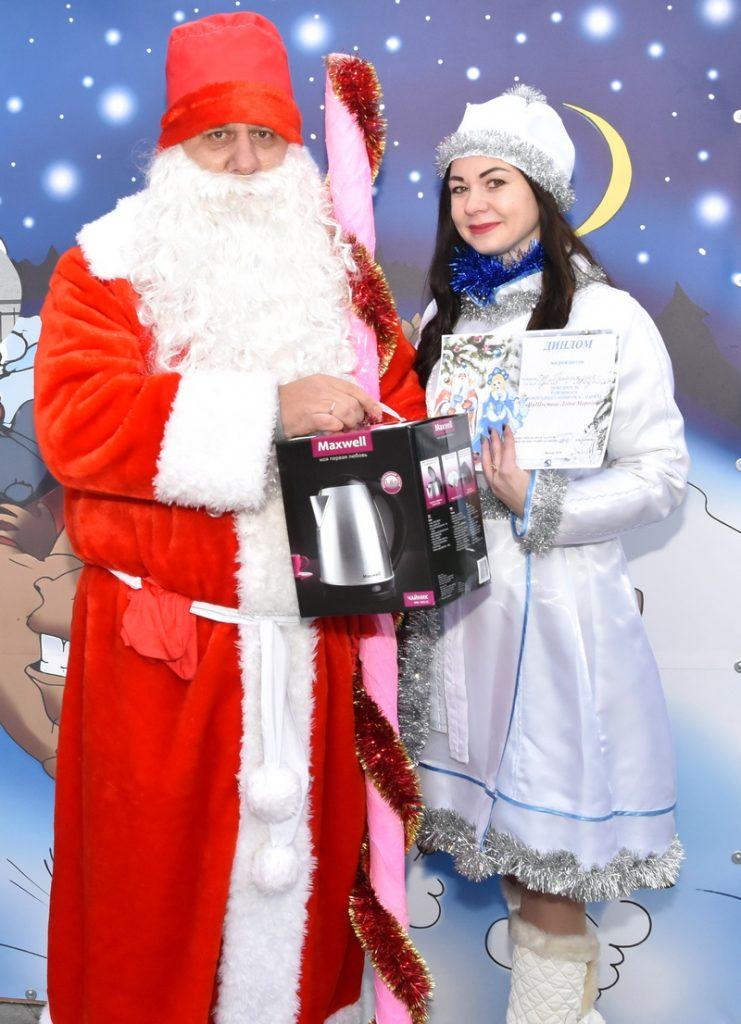 У Мядзеле выбралі найлепшых Дзеда Мароза і Снягурку