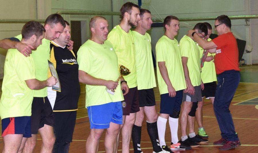 Каманда НДЦ «Зубраня» стала пераможцам міжрэгіянальнага турніру па міні-футболе (фота)