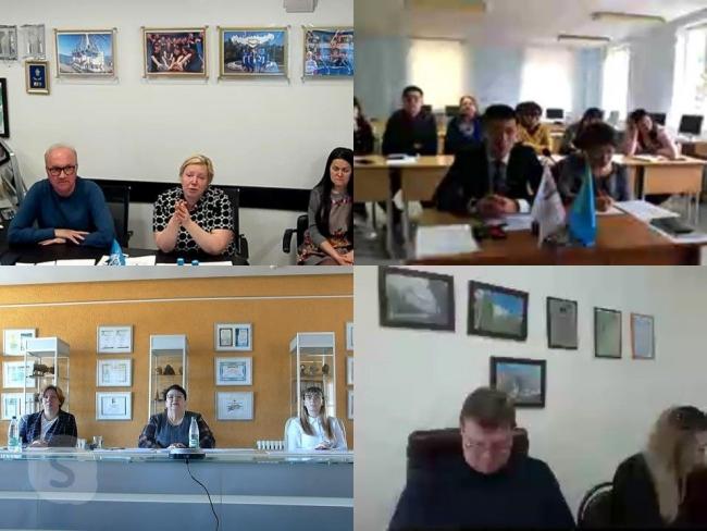 У НДЦ «Зубраня» правялі скайп-канферэнцыю па пытаннях арганізацыі летняга адпачынку дзяцей