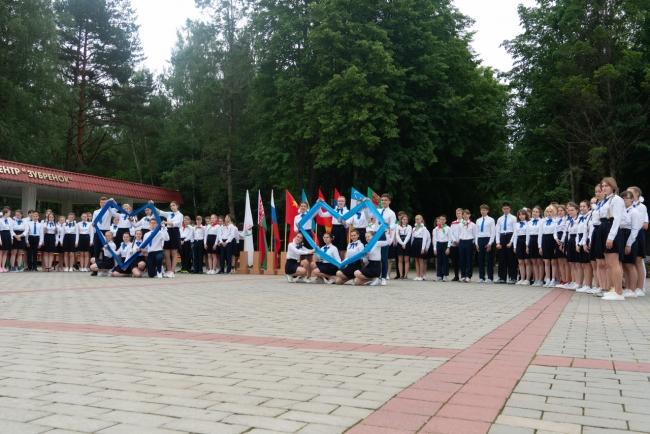 В «Зубренке» прошла Линейка Памяти, посвященная началу Великой Отечественной войны