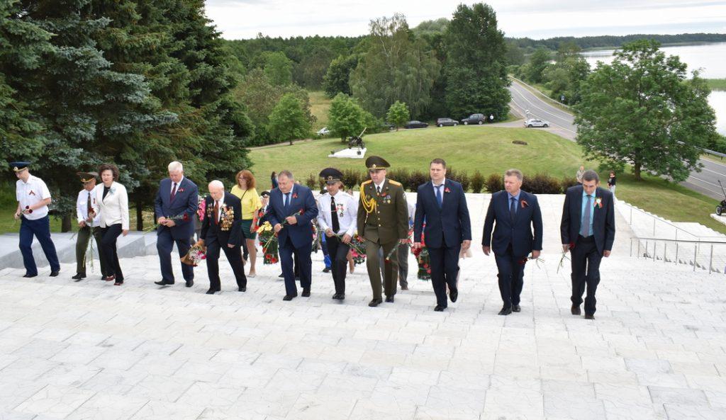 Мядзельшчына адзначае Дзень Незалежнасці Рэспублікі Беларусь (фота, відэа)