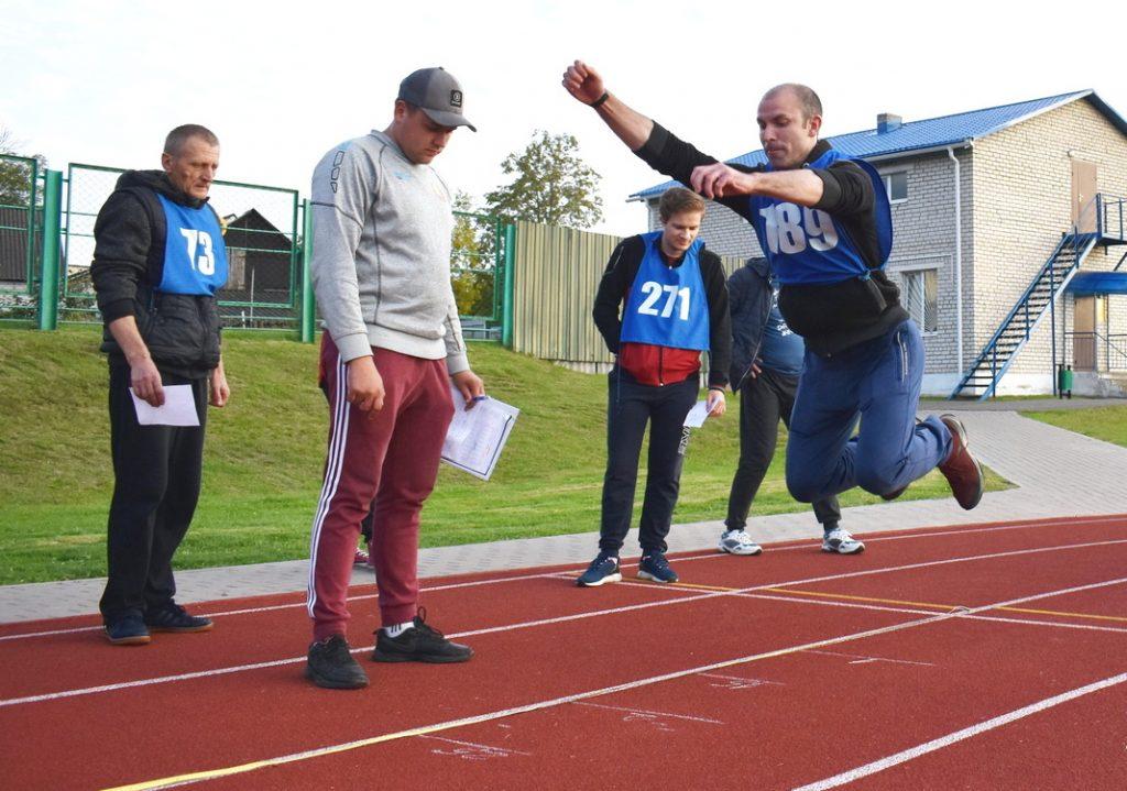 Как в Мяделе сдавали нормативы Государственного физкультурно-спортивного комплекса (фото)