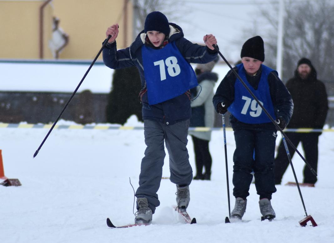 У Мядзеле адбылося адкрытае першынство СДЮШАР па лыжных гонках (фота)