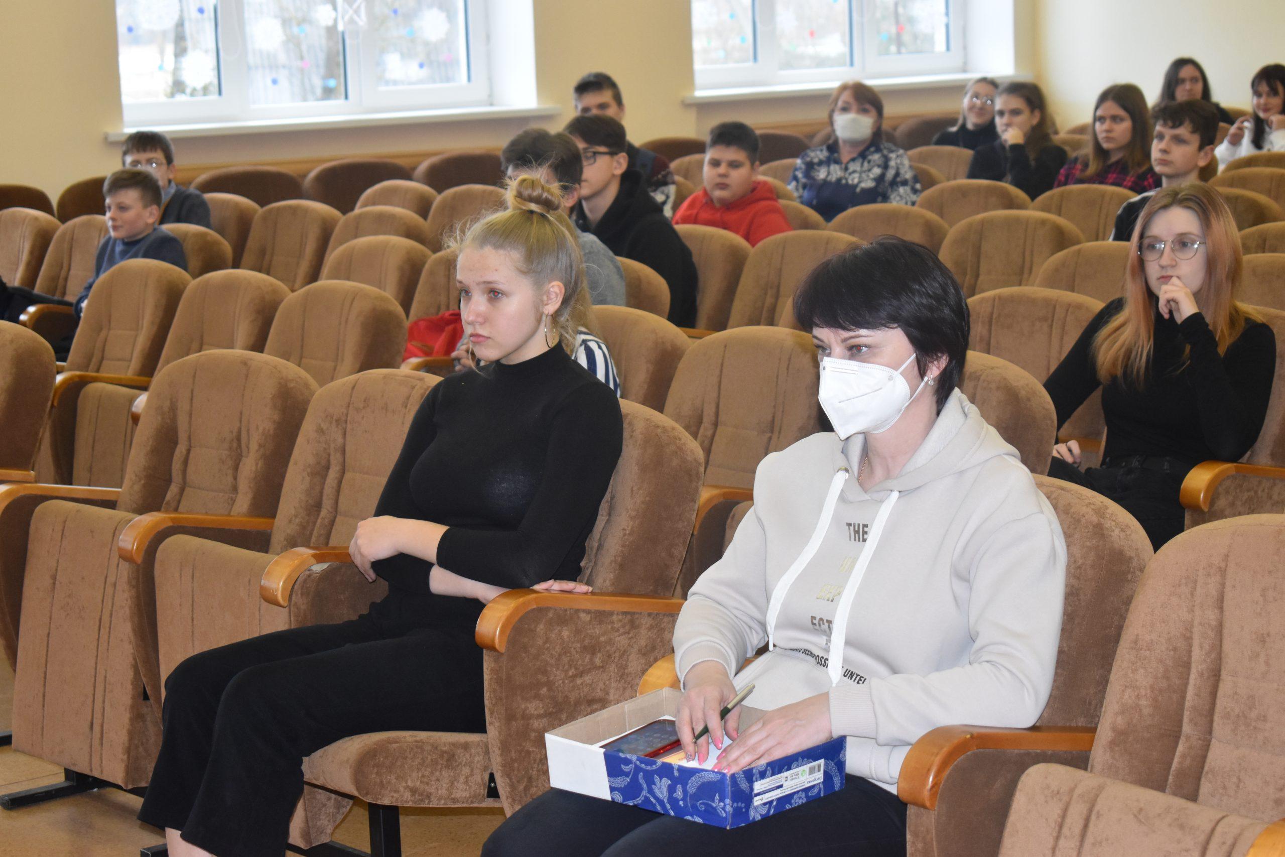 В школах Мяделя состоялись мероприятия, посвященные профилактике наркотической зависимости