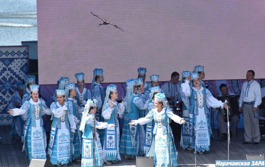 У Мядзеле прайшоў канцэрт Нацыянальнага акадэмічнага народнага хору імя Г. І. Цітовіча (фота, відэа)