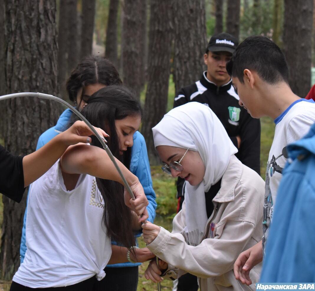 У «Зубраняці» адпачываюць дзеці з Сірыі і Узбекістана (фота)