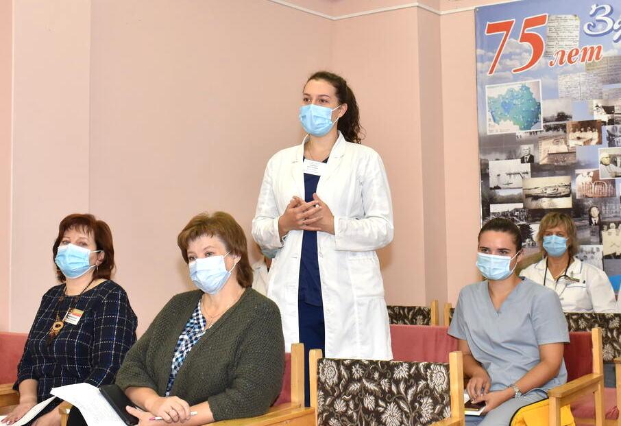 На дні інфармавання ў цэнтральнай раённай бальніцы пабываў старшыня райвыканкама Аляксандр Прановіч