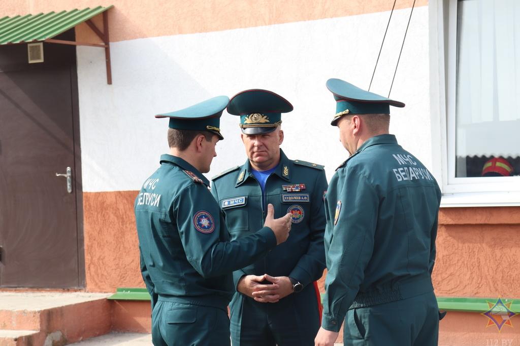 В преддверии Дня народного единства Александр Худолеев провел ряд мероприятий на Мядельщине