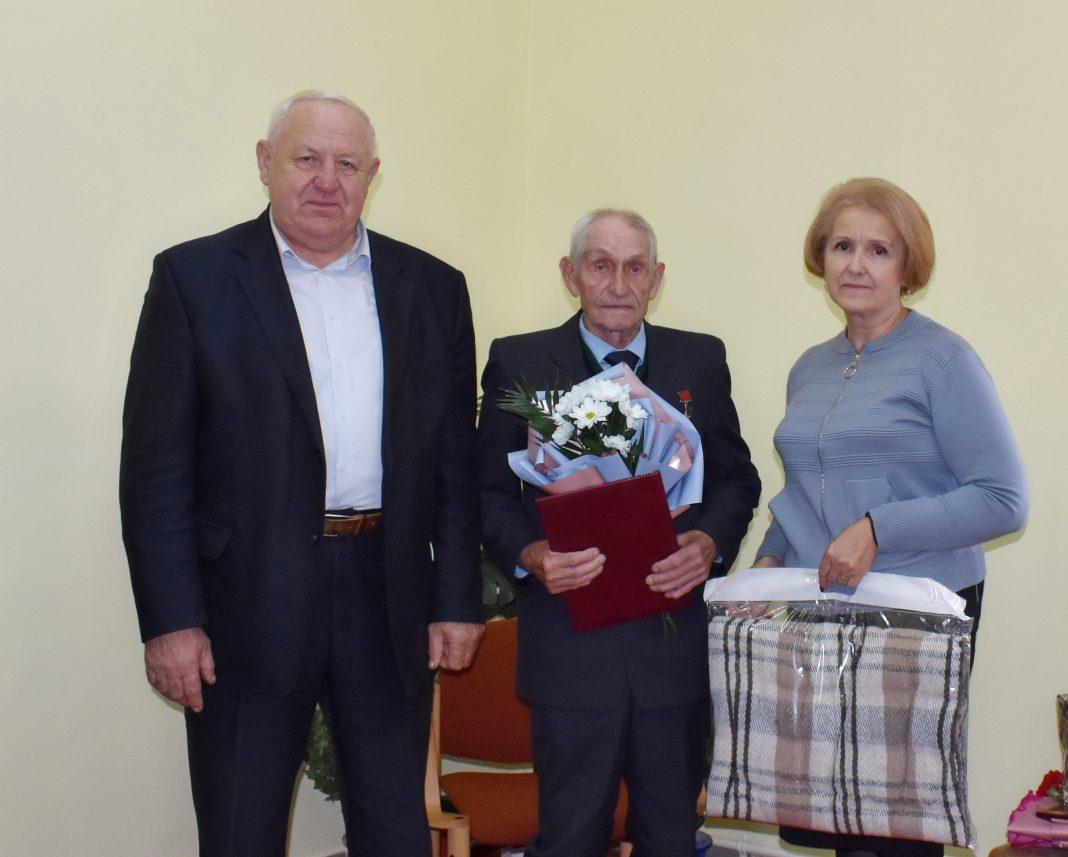 З 90-гадовым юбілеем віншавалі Героя Сацыялістычнай Працы Эдуарда Ціхага